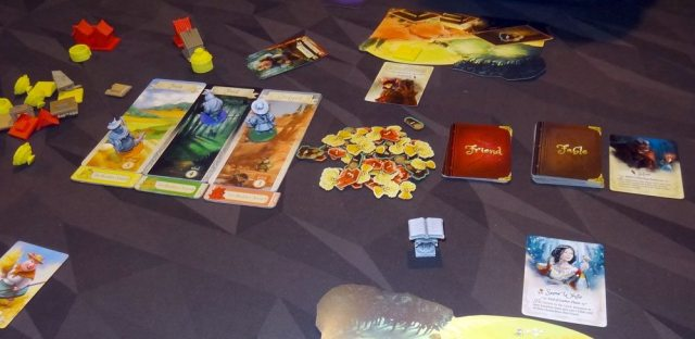 The Grimm Forest 3-player game