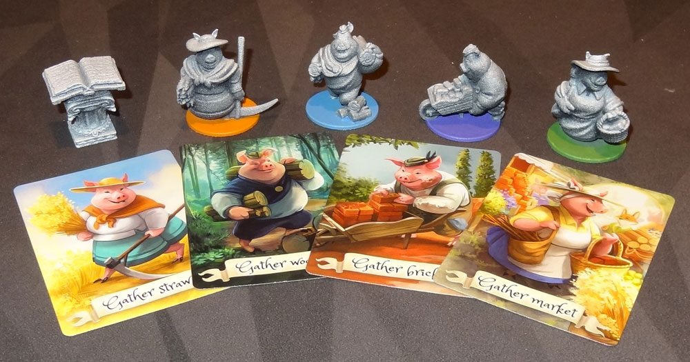 The Grimm Forest miniatures