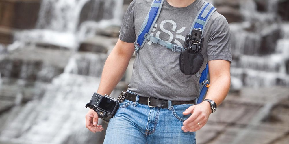 The SpiderLight Backpacker – Secure Camera Holster for Photographers on the Go