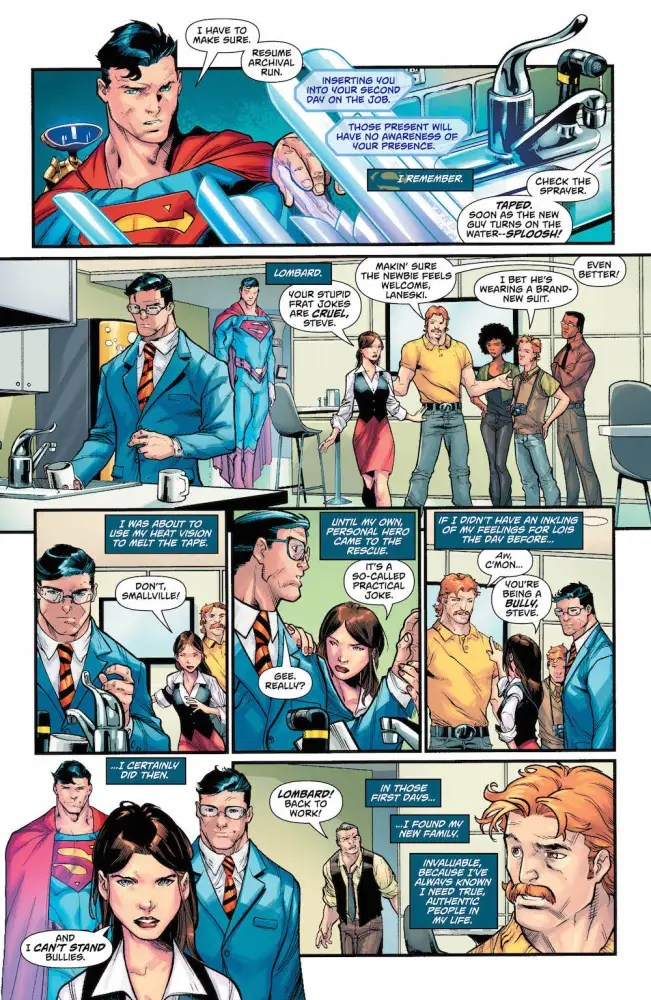 Superman: Action Comics #978, Lois Lane, Daily Planet
