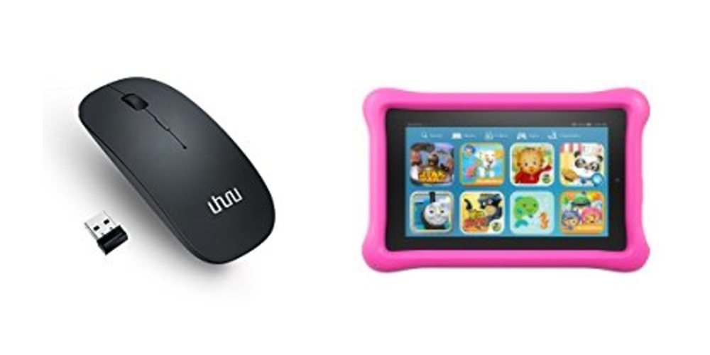 Silent, Portable Wireless Mouse for $10; Save $20 on the Kindle Fire Kids Edition –  Daily Deals!