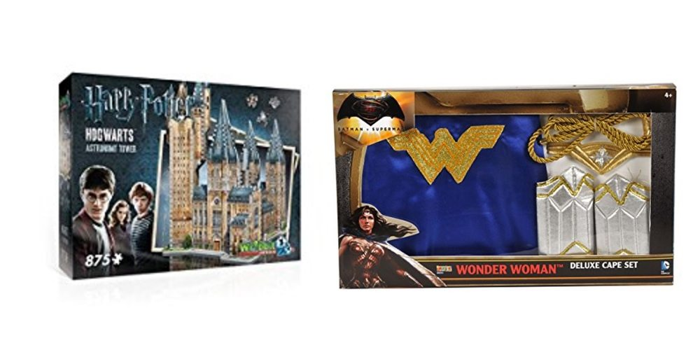 Get a 'Harry Potter' 3D Hogwarts Puzzle, or a Wonder Woman Cape Set – Daily Deals