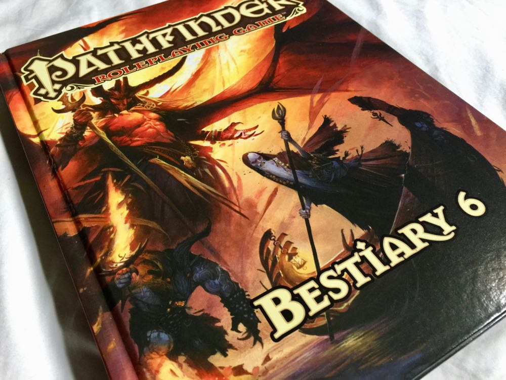 'Pathfinder's Bestiary 6', Prepare to Sell Your Soul