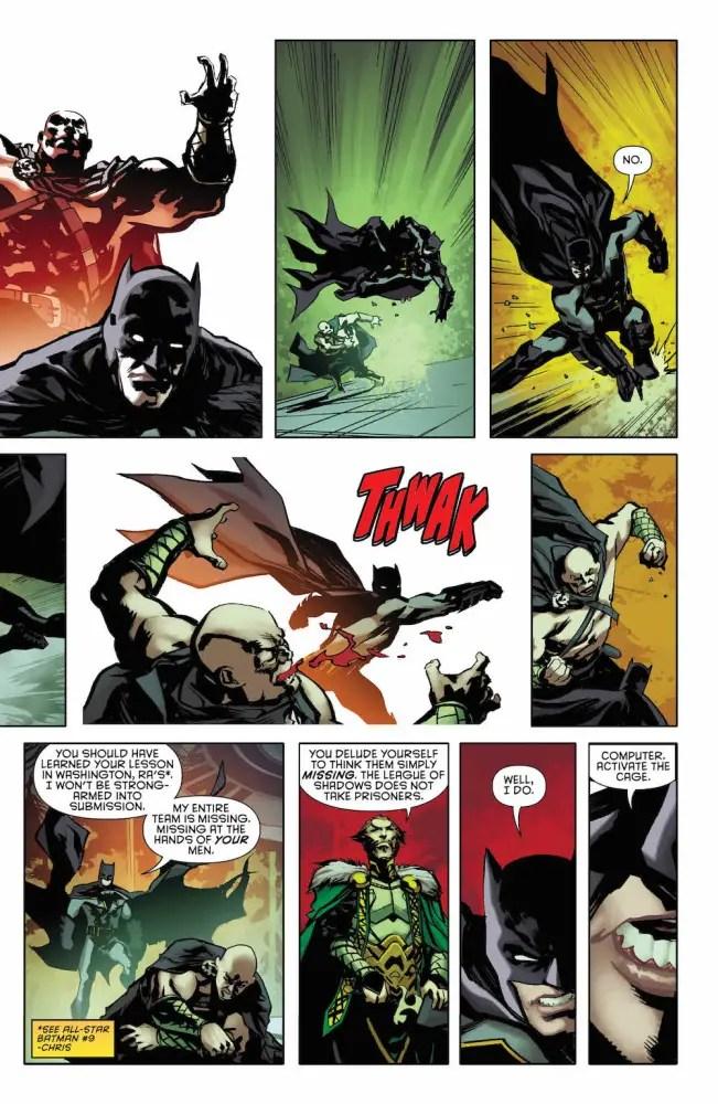 Batman and Ra's Al Ghul in Batman: Detective Comics #954
