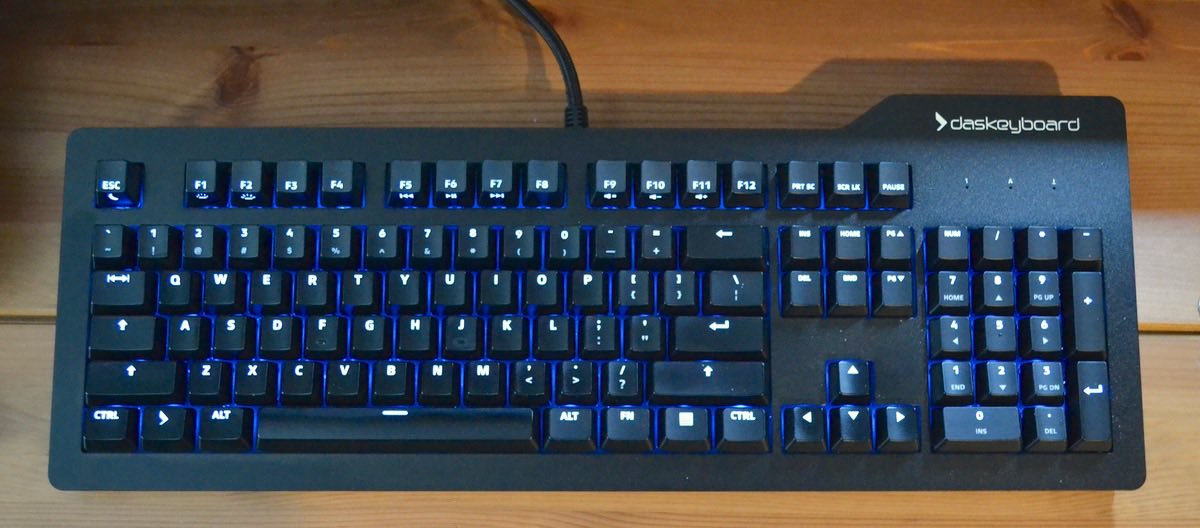 GeekDad Review: Das Keyboard Prime 13 Mechanical Keyboard