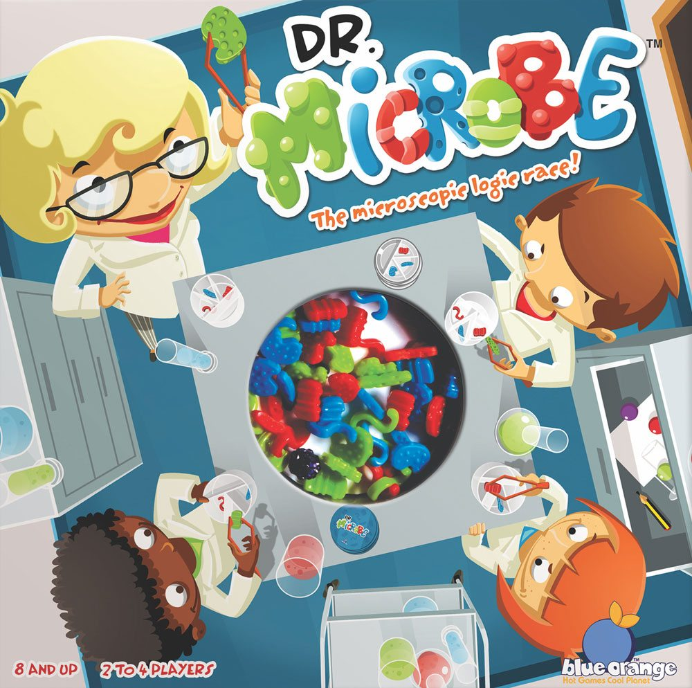 Dr. Microbe cover