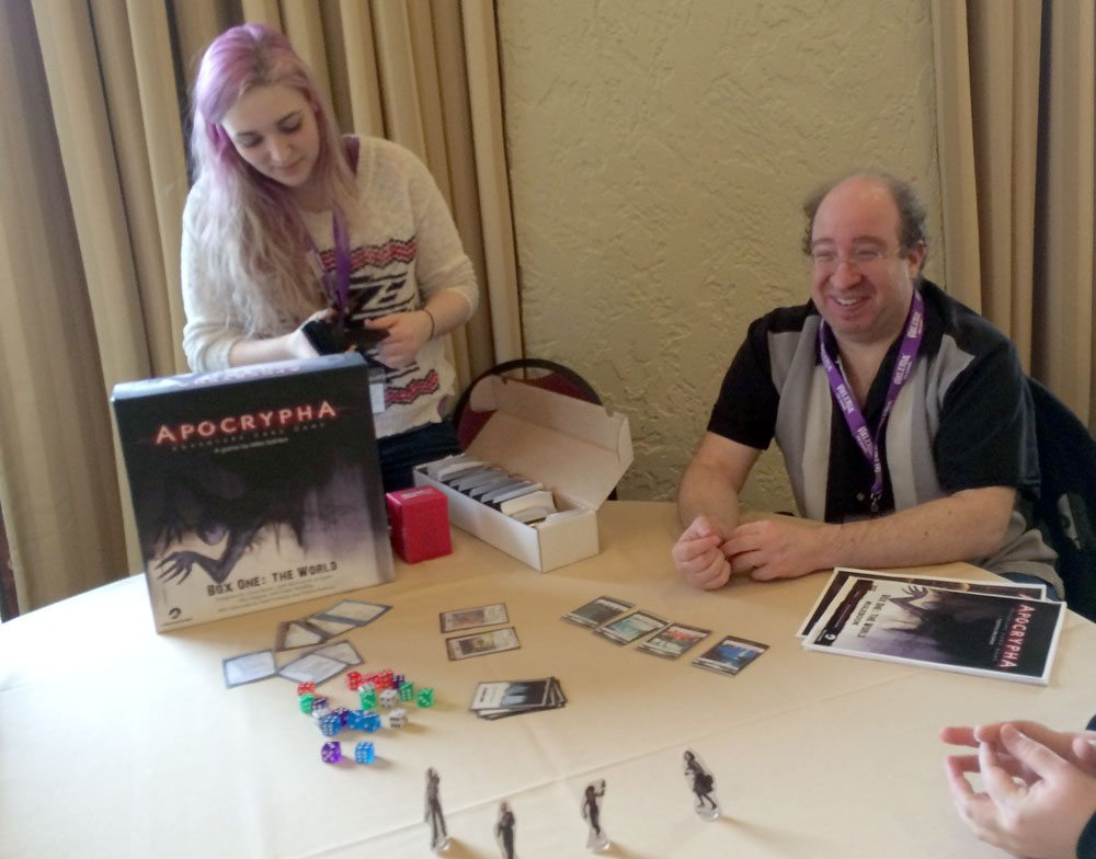Apocrypha at GameStorm