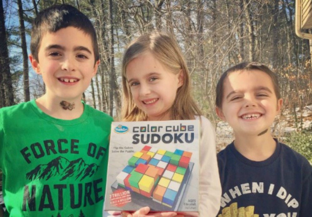 'Color Cube Sudoku': The Perfect Game for Sudoku Fans!
