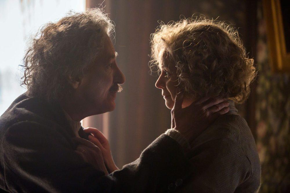 Geoffrey Rush and Emily Watson in 'Genius'.