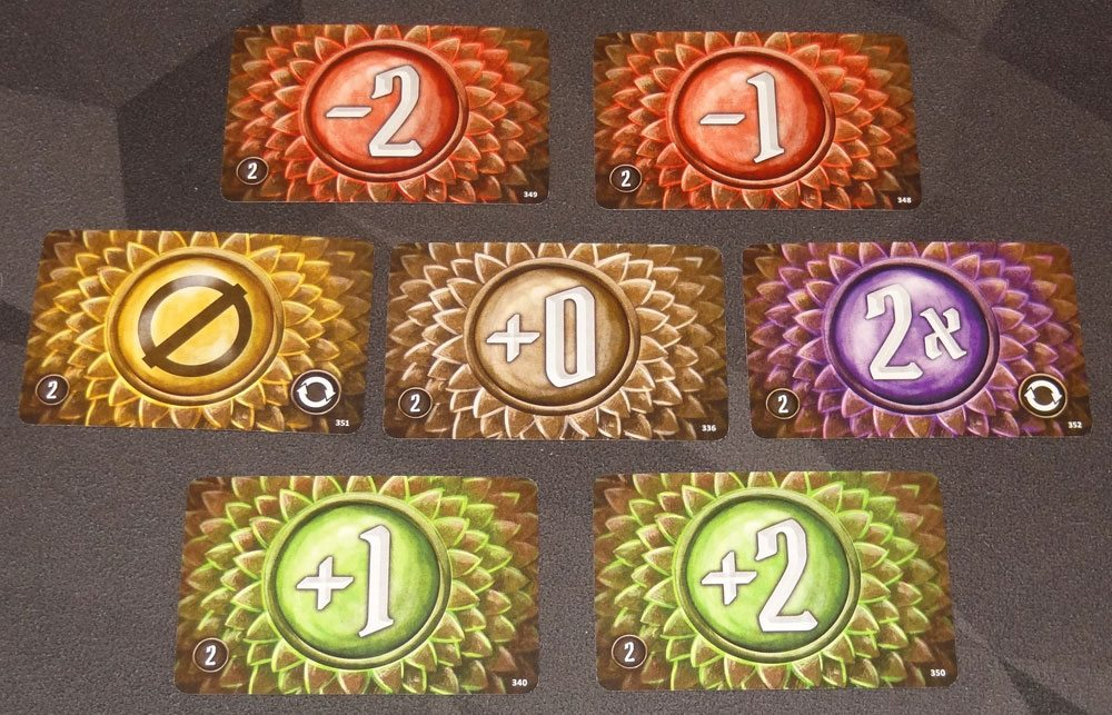 Gloomhaven attack modifier cards