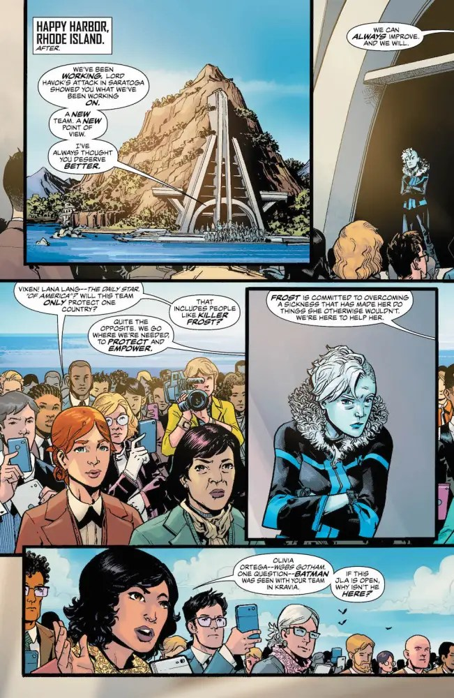 Justice League of America #5, 2017, Killer Frost