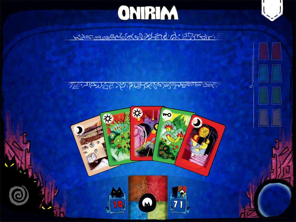 Onirim app start