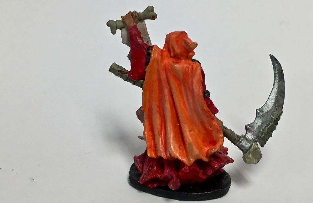 Painted Reaper Wizard Back
