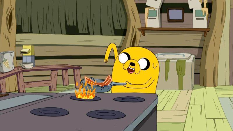 Jake: Making Bacon Pancakes