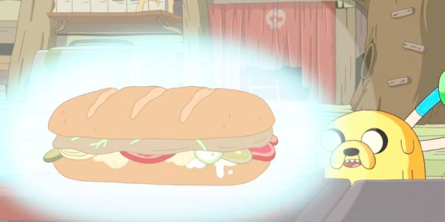 Jake's Perfect 'Adventure Time' Sandwich