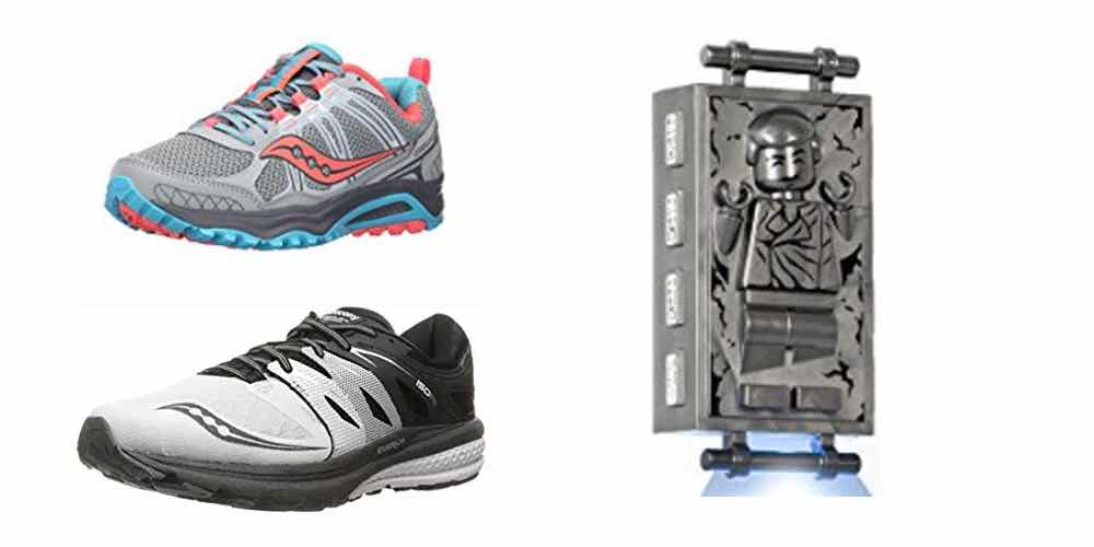 Get Saucony Running Shoes for $35; LEGO Han Solo in Carbonite for $12 – Daily Deals!