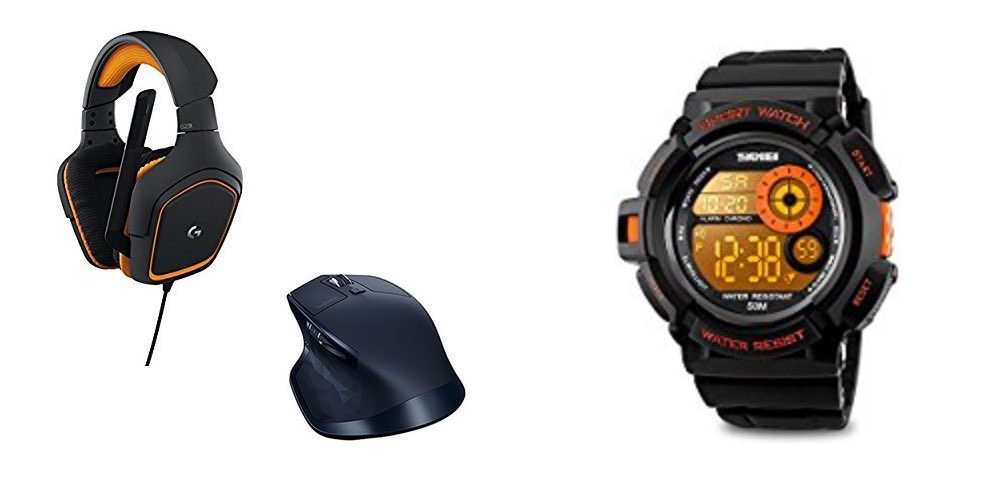 Get Mice, Keyboards, Headsets and More, Up To 50% Off; Digital Sports Watch for $8!