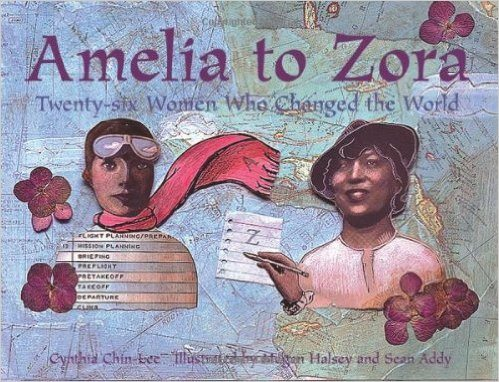 Amelia to Zora. Image credit: Charlesbridge