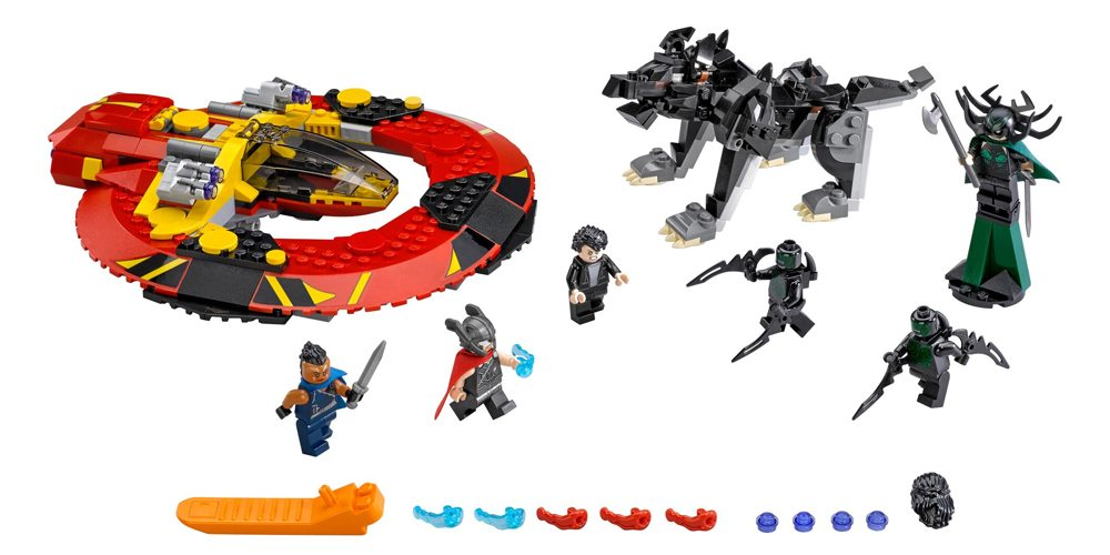 Breaking: New LEGO Kits for Upcoming Film 'Thor: Ragnarok'