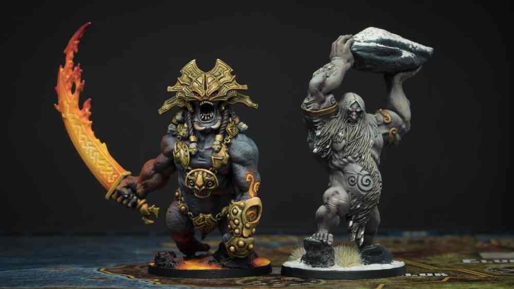 Blood Rage Fire Giant