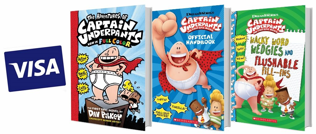 Win an Epic 'Captain Underpants' Prize Pack and Read up Before You See the Movie