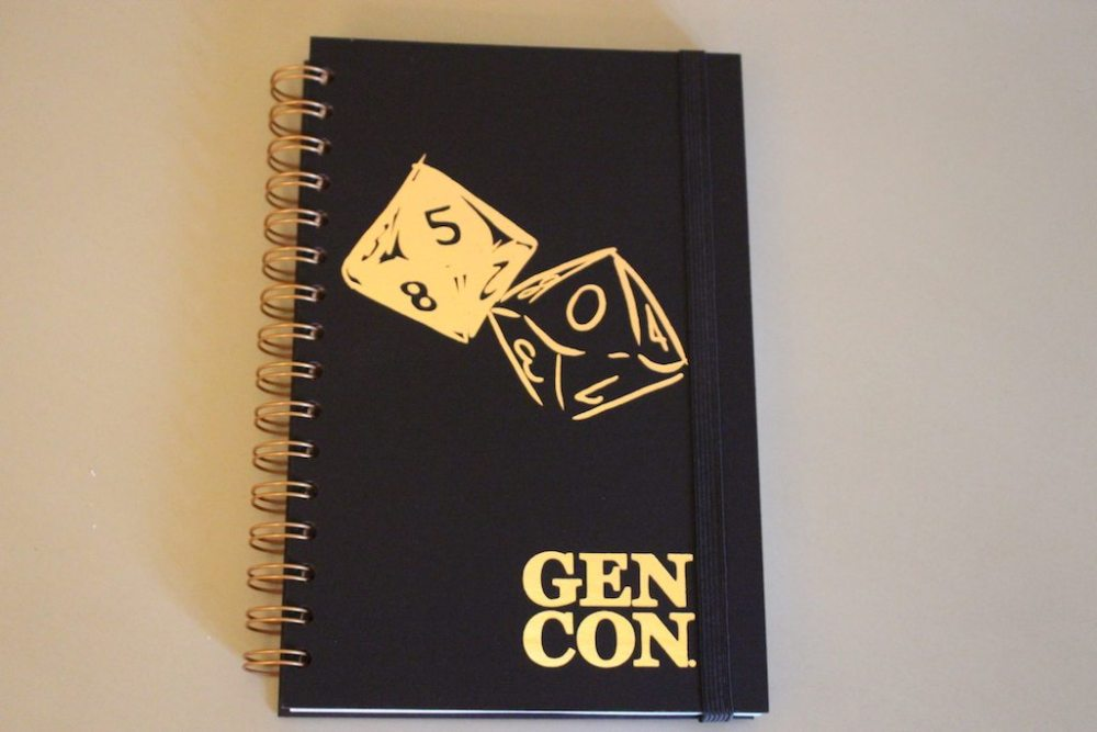 Gen Con 50 Journal Cover