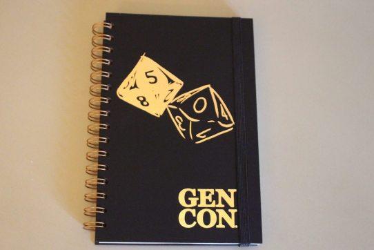 Gen Con 50 Journal Cover