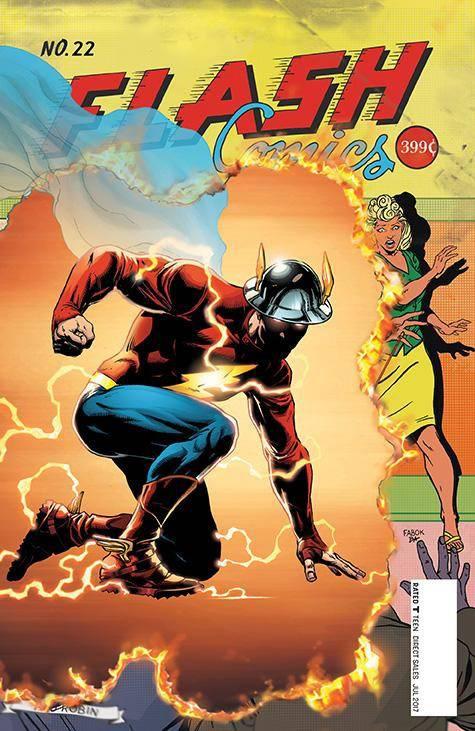 Flash #22, 2017, Jay Garrick
