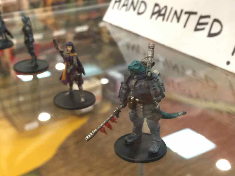 'Starfinder' 3D hand-painted prototypes