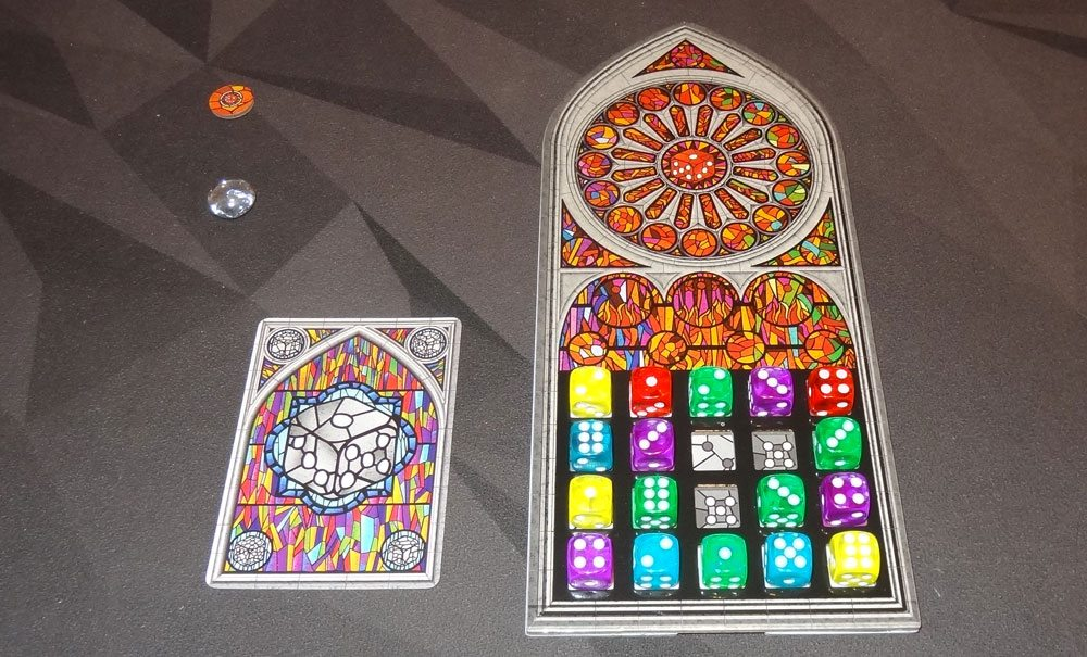 Sagrada finished window