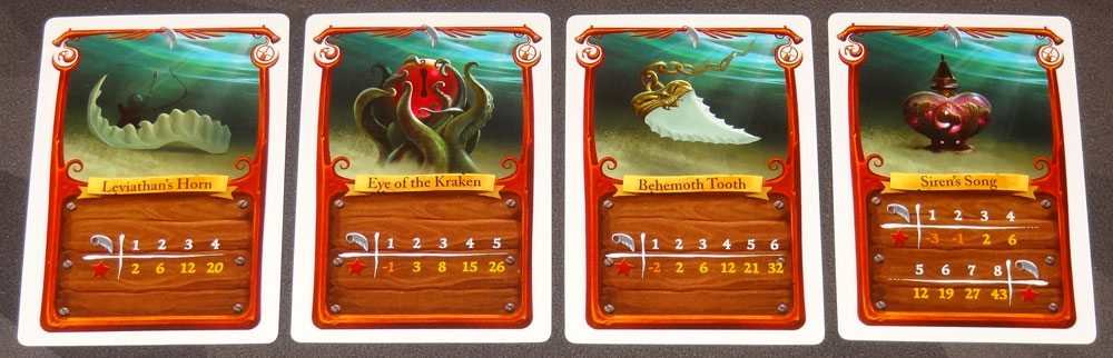 Sea of Clouds relic cards