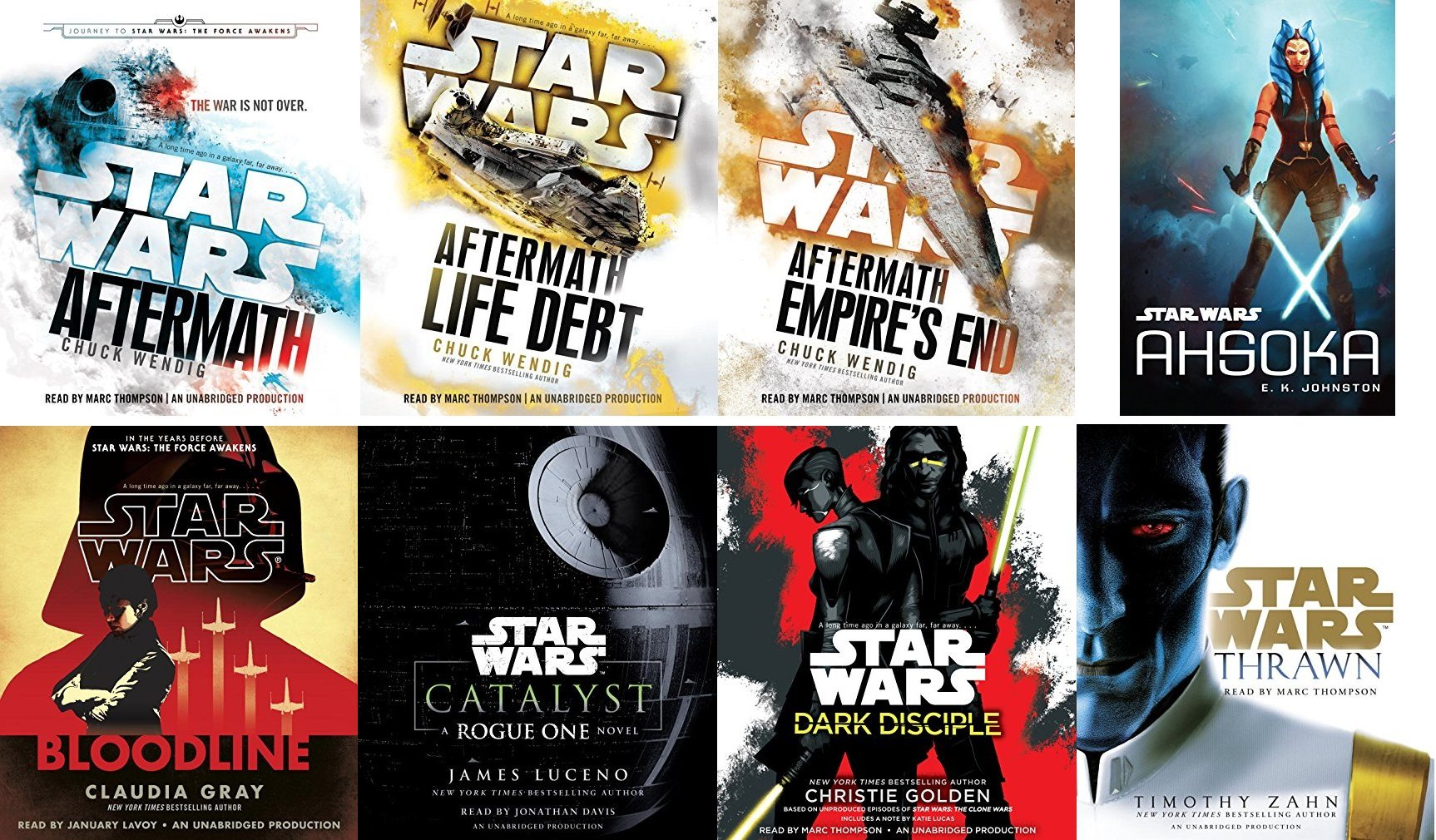 Celebrate 'Star Wars' Day by Building Your 'Star Wars' Audiobook Collection