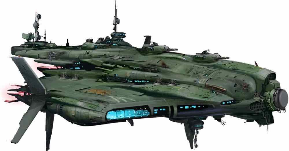 Vesk Tyrant Spaceship
