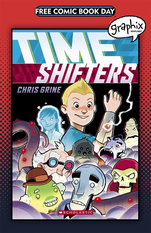 FCBD 2017 Time Shifters