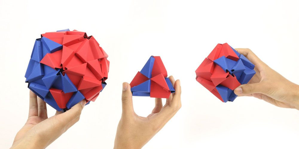 Kickstarter Alert: Troxes—Origami Building Blocks