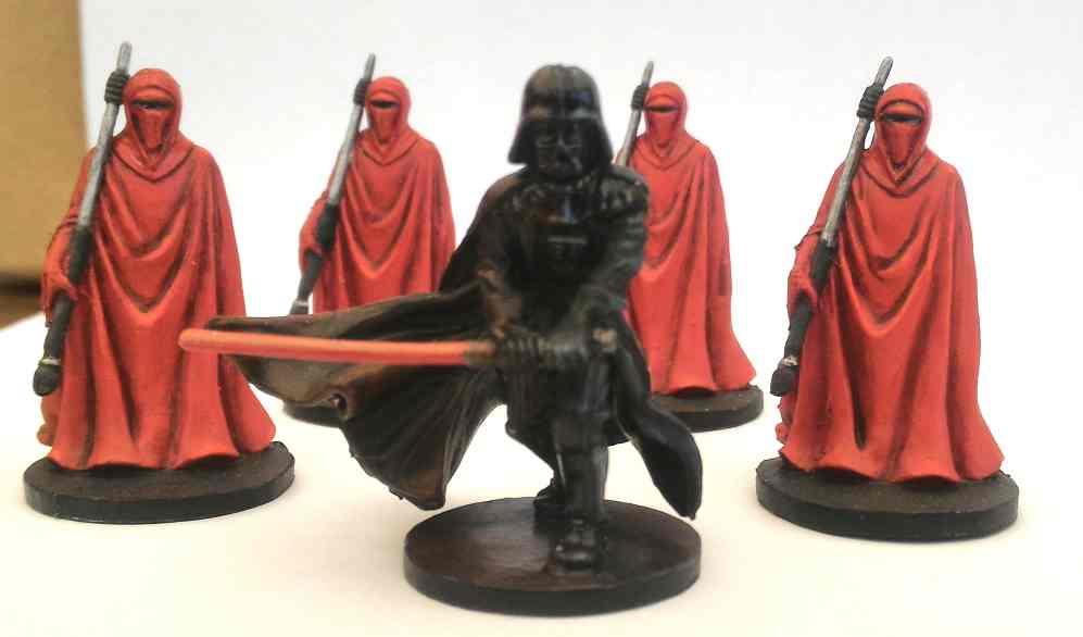 Vader and Emperor's Guard