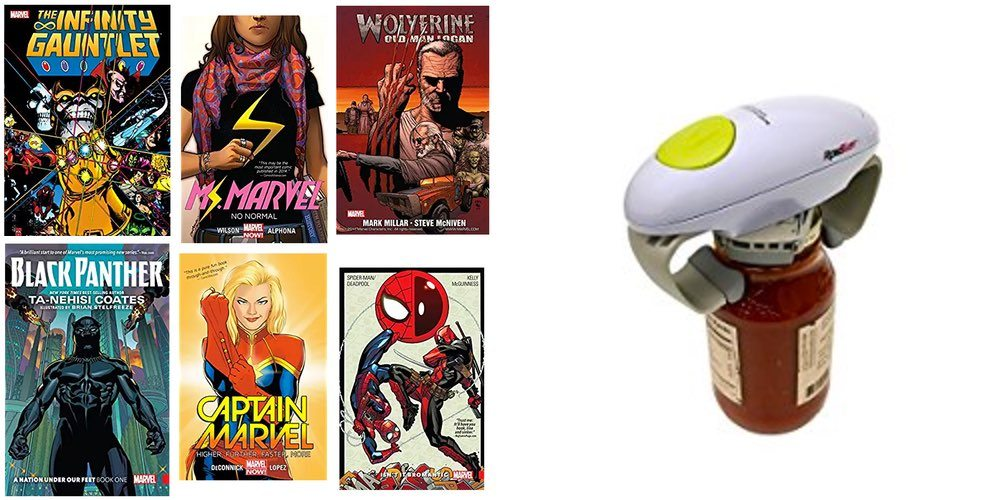 Massive Marvel Comics Sale $2 and Up; Totally Useful Electric Jar Opener for $19 – Daily Deals!