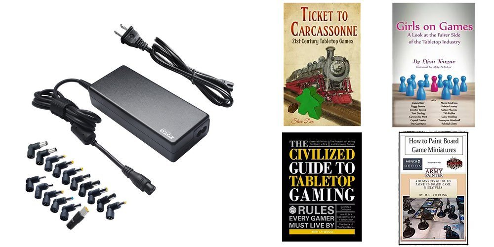 Laptop Replacement Power for $20; Get Books About Tabletop Gaming – Father's Daily Deals!