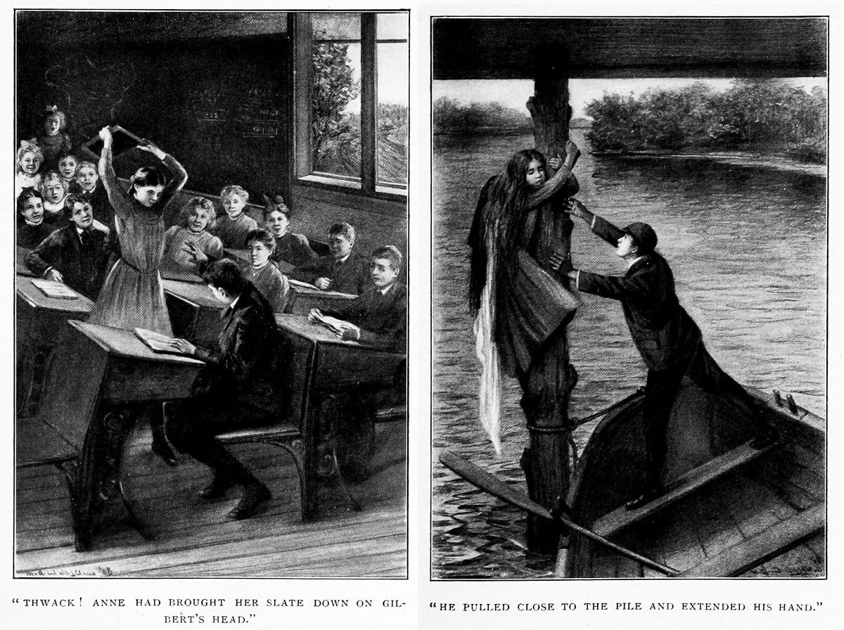 Gilbert Blythe Illustrations from 1908 Anne of Green Gable