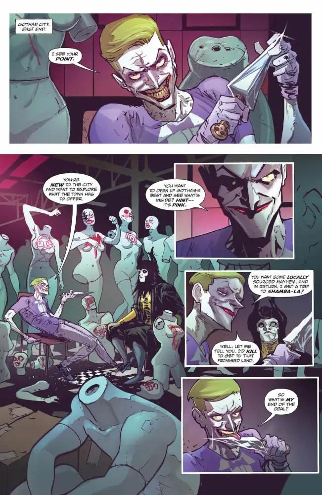 The Joker in Batman/The Shadow Team-up