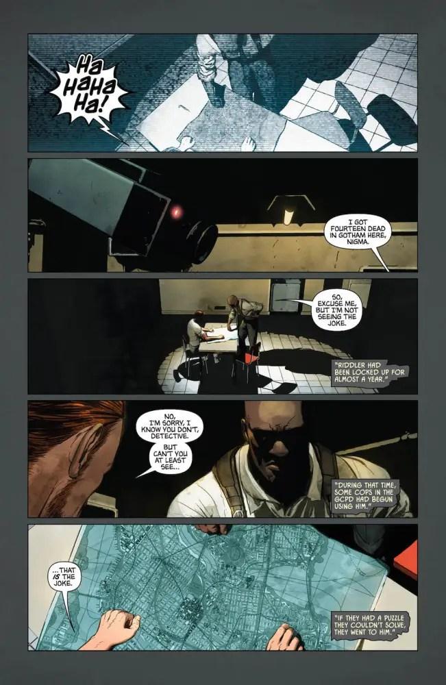 Batman #25, Riddler