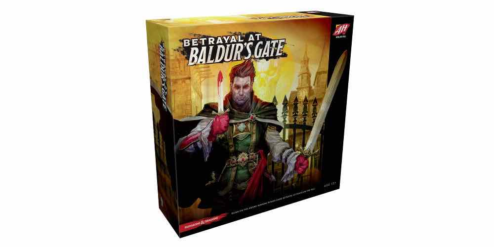 Betrayal at Baldur's Gate Game Box