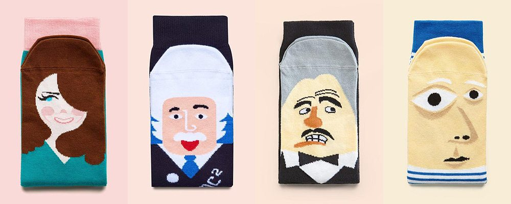 Chatty Feet Sock Designs, Image: Chatty Feet