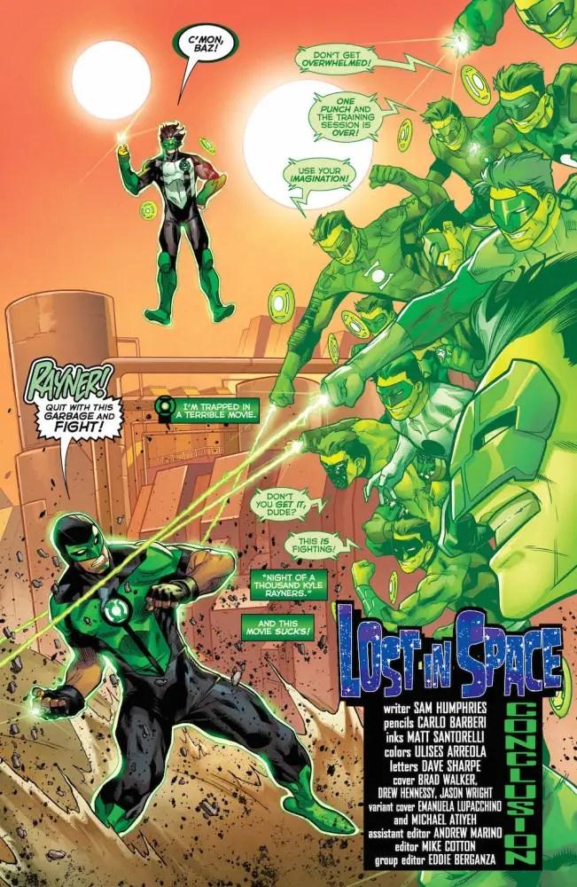 Green Lanterns #24, Simon and Kyle