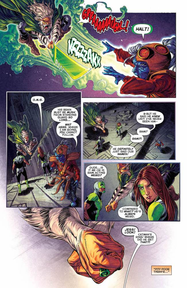Simon Baz, Jessica Cruz, Green Lanterns #25