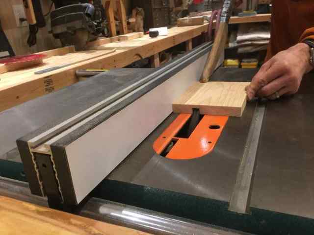 Table Saw Pass 2