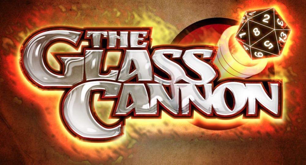 Glass Cannon Podcast Logo