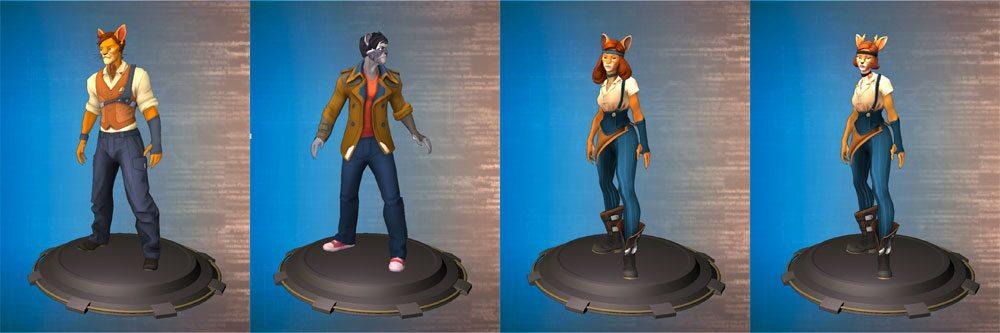 Hacktag characters