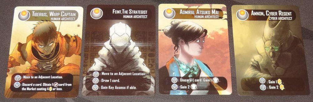Helionox Architect cards