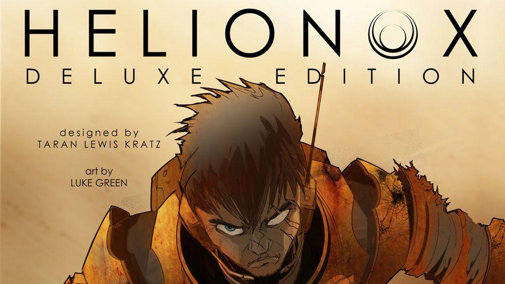 Kickstarter Tabletop Alert: 'Helionox' Deluxe Edition